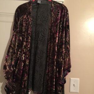 Kimono-style coverup